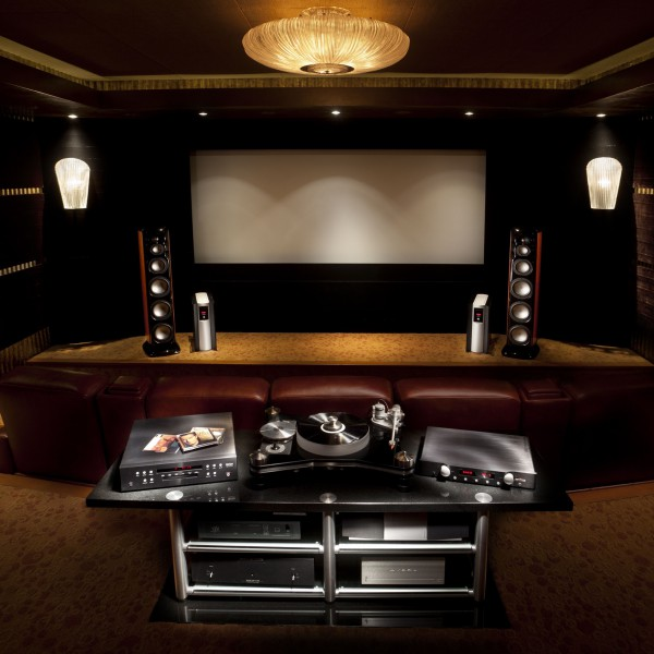 home theater - Home Media Room Designs