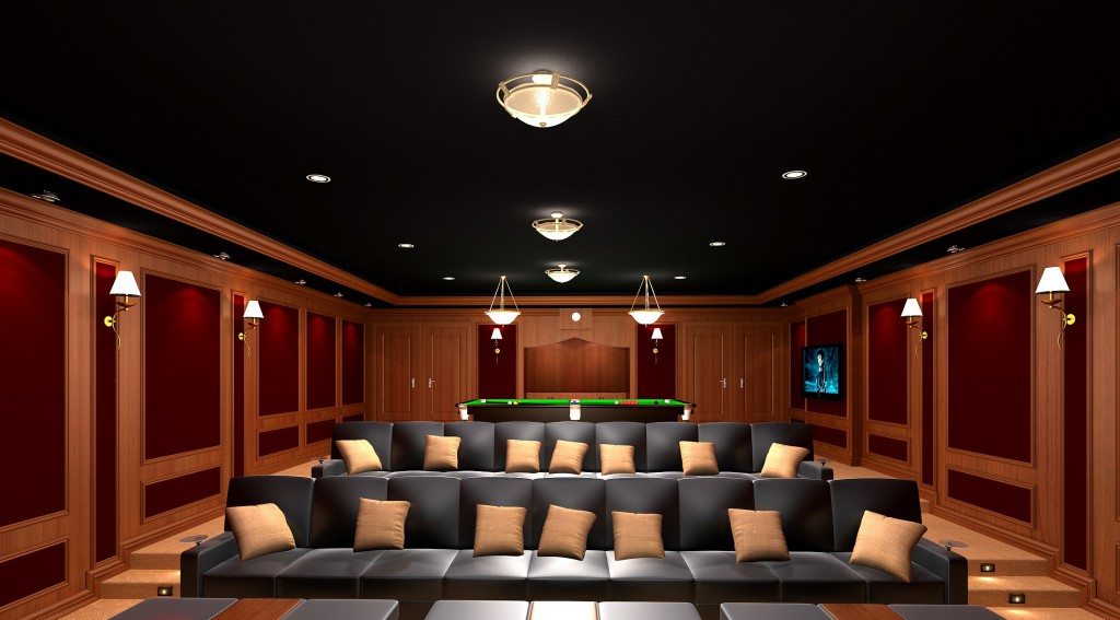Theater seating unique home systems for Unique home theater